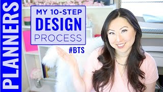 Behind The Scenes On How I Create Planners - My 10-Step Planner Design Process