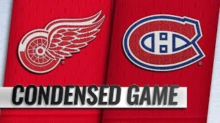 Detroit Red Wings vs Montreal Canadiens – Oct.15, 2018   Game Highlights   NHL 18/19   Обзор матча