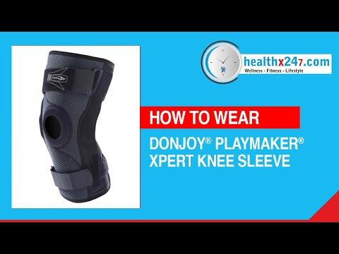 Donjoy Playmaker X-pert Knee Sleeve