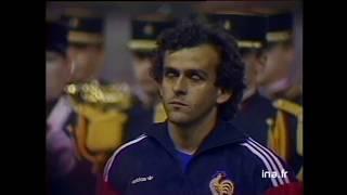 Мишель Платини и сборная Франции. 1985 год.