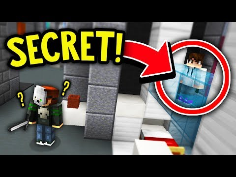 THEY NEVER FOUND THIS SECRET HIDING SPOT! (Minecraft Murder Mystery)