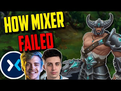 Why MIXER Failed, NEW Tryn build & Why Top lane Sucks