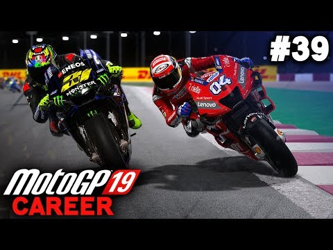 FIRST RACE FOR YAMAHA! QATAR GP! | MotoGP 19 Career Mode Part 39 (MotoGP 2019 Game PS4 Gameplay)