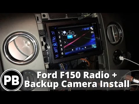 2004 - 2008 Lincoln Mark LT / Ford F-150 Stereo Install and Backup Camera