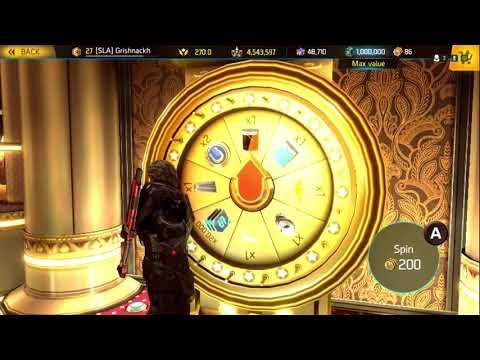 Shadowgun Legends gold unlucky wheel strikes again