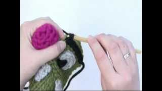 How To Crochet An Eyebrow On The Hat In DROPS Extra 0-931