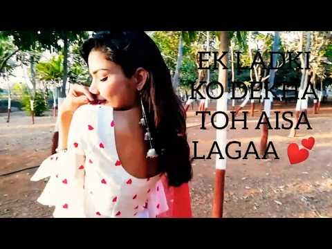 Ek Ladki Ko Dekha Toh Aisa Laga dance cover by palak singh