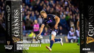 Guinness PRO14 - Gli Highlights con le 9 mete di Edinburgo vs Benetton Rugby