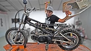 THE MONSTER PIWI 80CC and RIDE