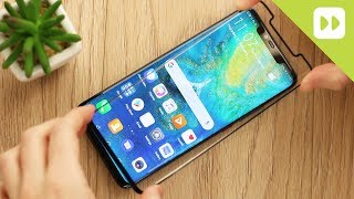 Eiger 3D Glass Huawei Mate 20 Pro Screen Protector Installation Guide & Review