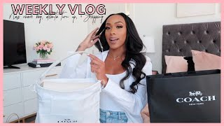 LIFE WITH JAYLA ► WEEKLY VLOG | NEW COACH BAGS, ATL TURN UP, & SHOPPING!