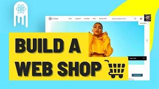 ECommerce Web Shop - Build & Deploy an Amazing App | React.js, Commerce.js, Stripe