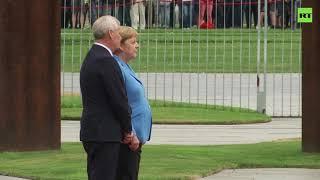 Merkel ismét remegni kezdett