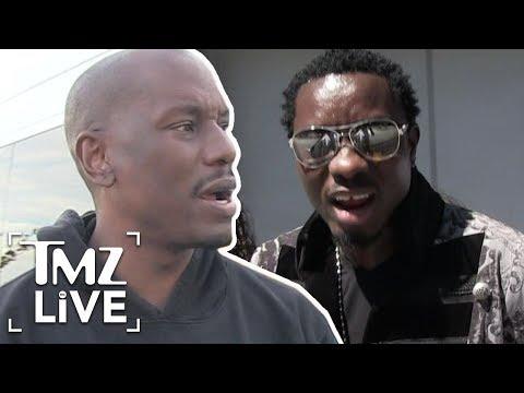 Tyrese Kidnaps Michael Blackson!   TMZ Live