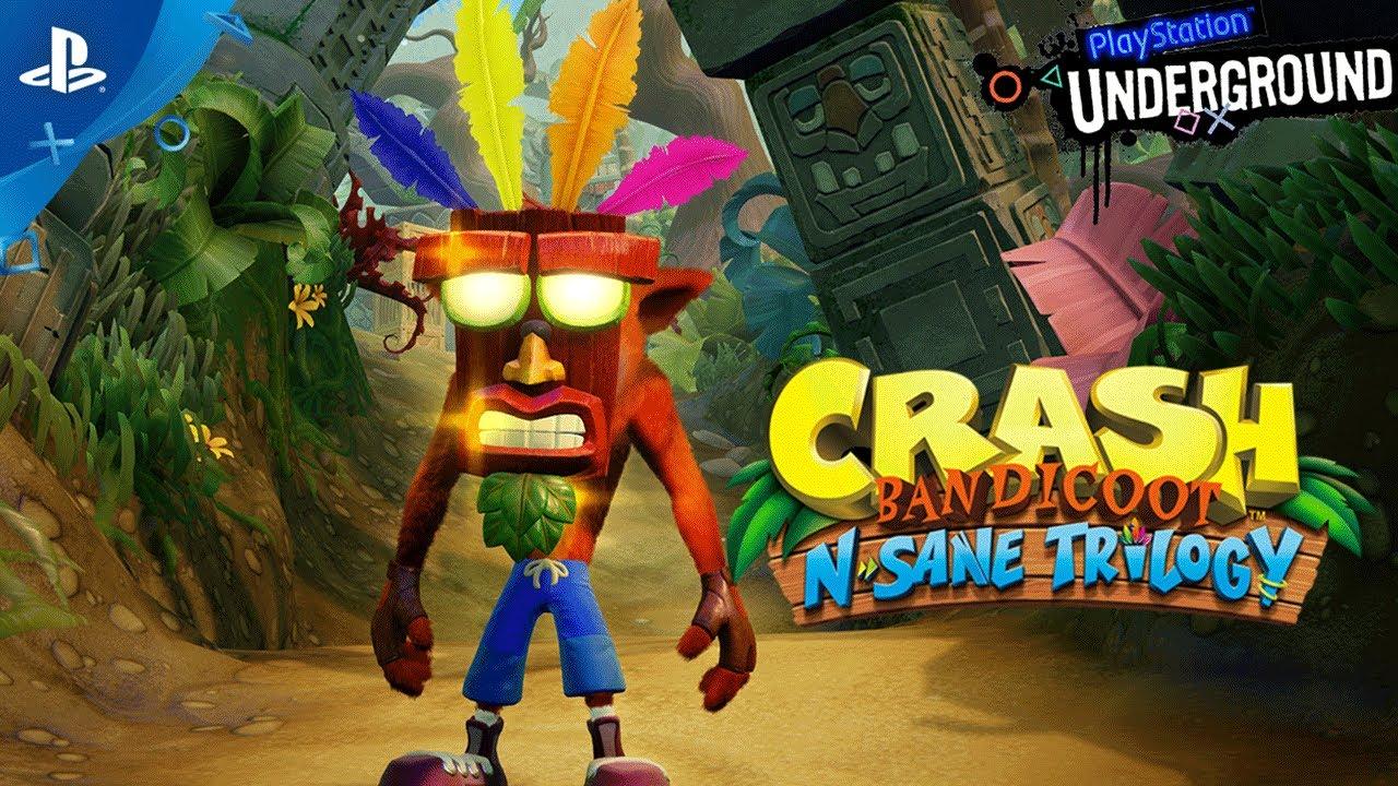 PlayStation Underground Spins Up Crash Bandicoot: N.Sane Trilogy