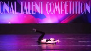 """Hit the Road Jack"" 2013 Leila Meghdadi 8 Year old mini jazz compeititive dance"