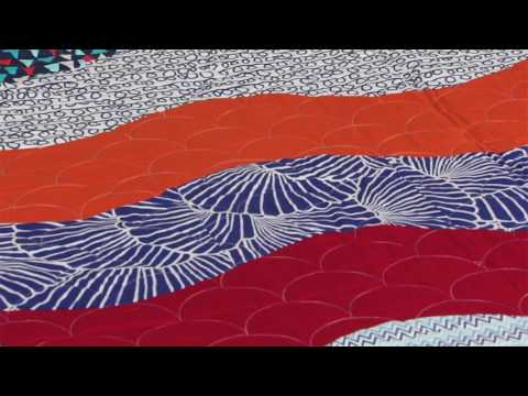 Sizzix Quilting: Wave quilt with Victoria Findlay Wolfe