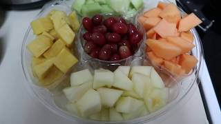 How To Make A Fruit Tray