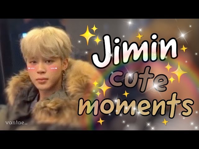 BTS Jimin Cute and Funny Moments