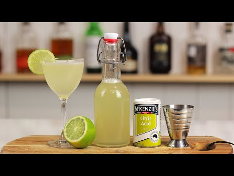 How to make ROSE'S LIME JUICE (Delicious DIY Lime Cordial Recipe) + Gimlets!!