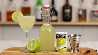 How To Make ROSES LIME JUICE (Delicious DIY Lime Cordial Recipe) + Gimlets!!