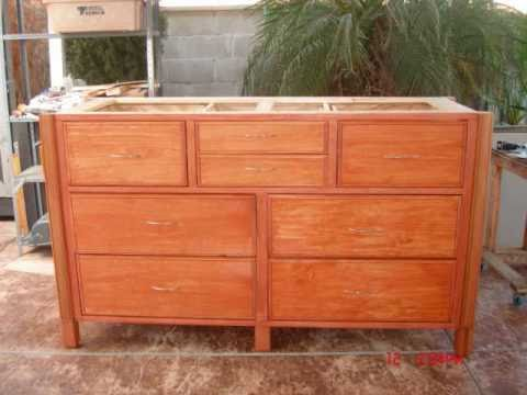 How To Build A Dresser Youtube