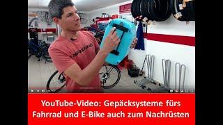 Gepäcksysteme und Gepäckträger fürs Fahrrad und E Bike