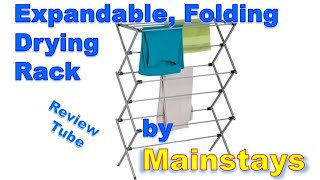 Expandable Folding Drying Rack By Mainstays
