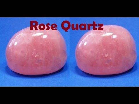 Video Stone for Skin, Acne & Pimples, Stone for Love & Relationship, Rose Quartz, Pink Quartz,