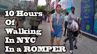 10 Hours of Walking in NYC wearing a Romper