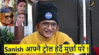 Voice of Nepal का Sanish आफ्नै ट्रोल हेर्दै मुर्छा परे   गितको लिरिक्स बिर्सिदा के भाको थियो?