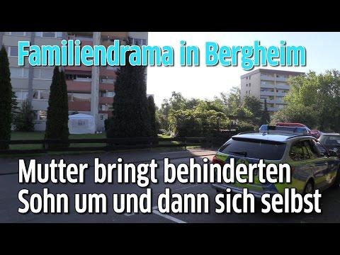 Familiendrama in Bergheim: Mutter in Vorgarten gefunden