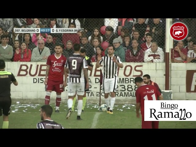 DEFENSORES VS GIMNASIA -FINAL DE IDA-