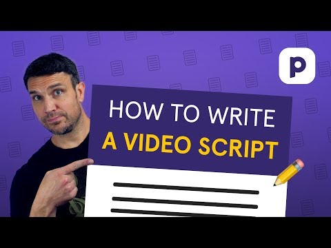 How to write a VIDEO SCRIPT for your online course (sound more natural)