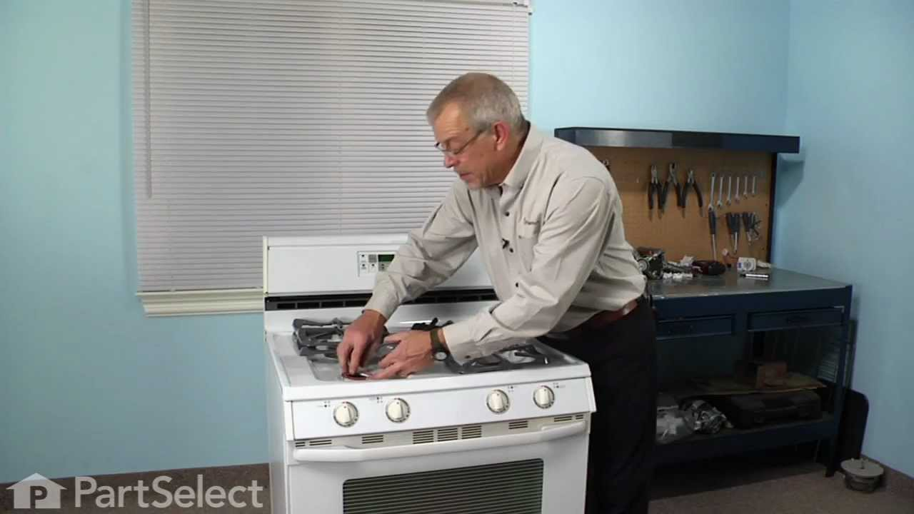 Replacing your Maytag Range Top Burner Igniter