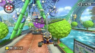 Water Park - 1:39.758 - D¥★1 (Mario Kart 8 World Record)