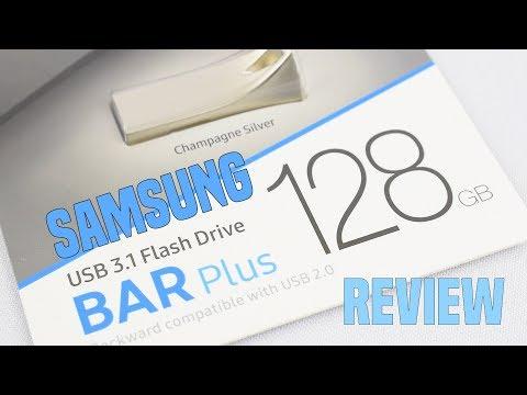 Samsung bar plus 128gb USB 3.1 flash drive review