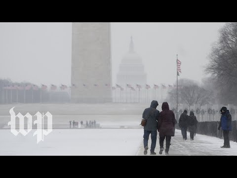 Snow is headed to the D.C. region on Tuesday evening
