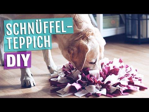 Anleitung SCHNÜFFELTEPPICH | Hundespielzeug selber machen / basteln | HUNDE DIY HUND
