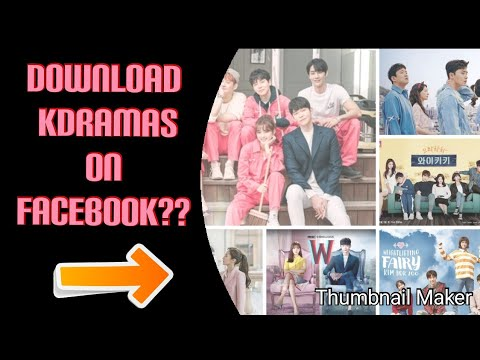DOWNLOAD KDRAMA ON FACEBOOK FOR FREE