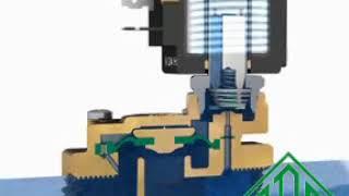 """Электромагнитный клапан для воды 21W5KB350 (ODE, Италия), G 1 1/4, Купить в Киеве от компании ООО """"Армакипсервис"""" - видео"""