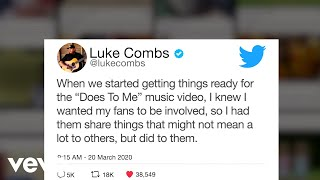 Luke Combs Does To Me