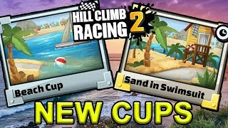 Hill Climb Racing 2 - TWO NEW BEACH CUPS