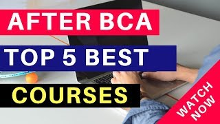 Top 5 Course After BCA In India You Can Do | Hindi (2019)