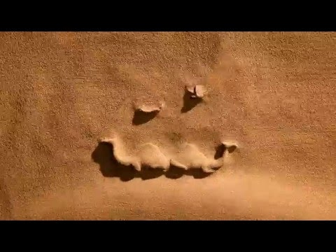 sand animation india  rajasthan tourism logo reveal