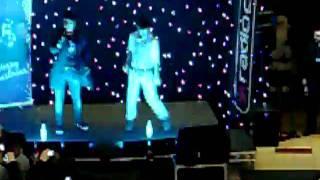 Diva Fever Bootle Lights switch on 25/11/10..singing Diva Fever!