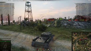 СУ-152, Рудники, Стандартный бой
