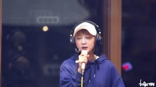 170424 테이의 꿈꾸는 라디오 EXID - BOY 혜린직캠