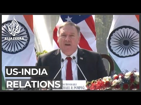 US seeks closer India ties amid China threat