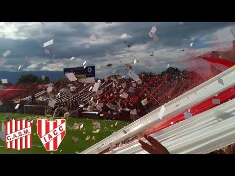 """""""Recibimiento de San Martín de Tucumán VS Instituto"""" Barra: La Banda del Camion • Club: San Martín de Tucumán"""